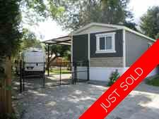 Dewdney Deroche Manufactured home for sale:  3 bedroom 1,178 sq.ft. (Listed 2019-08-08)